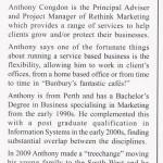 Bunbury Chamber of Commerce Member Rethink Marketing