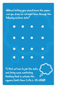 Rethink Marketing Business Card Puzzle