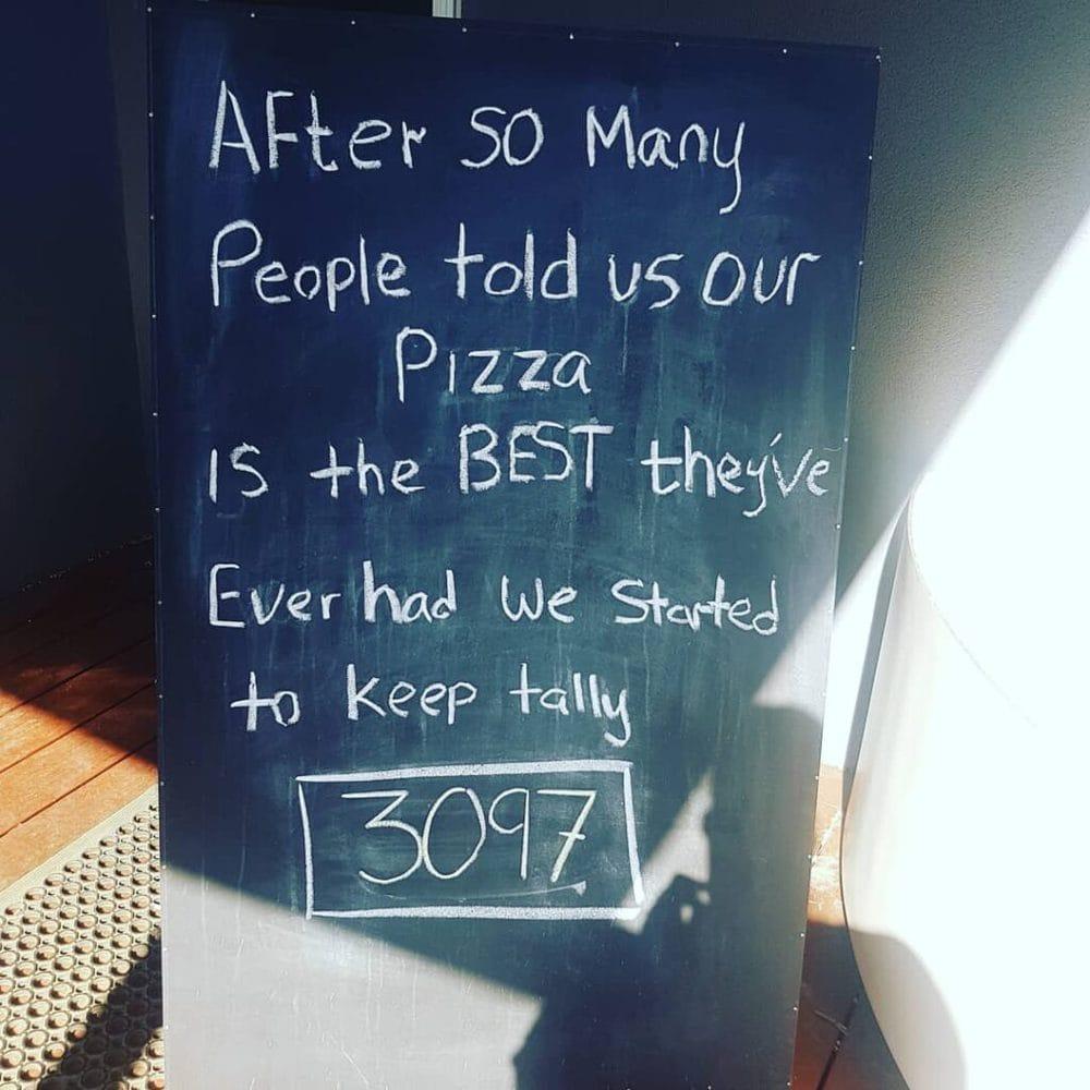 Ferguson falls pizza tally